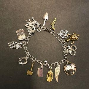 Jewelry - Supernatural J2M Charm Bracelet SPN Fandom